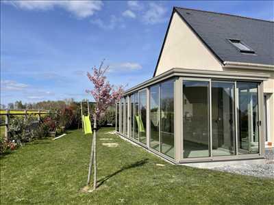 Photo Installation de veranda n°118 à Caen par Caen Vérandas
