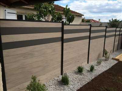 Photo Pose de clôture n°171 dans le département 78 par BOIS LIQUIDE