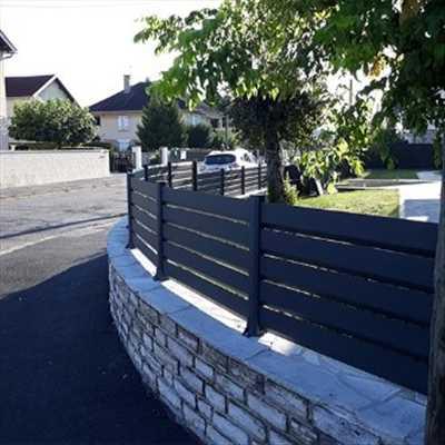 Photo Pose de clôture n°235 dans le département 67 par Jonathan