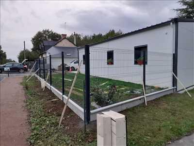 Photo Pose de clôture n°244 zone Ille-et-Vilaine par Pierre