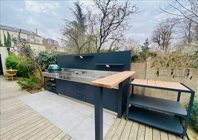 Photo cuisine d'extérieur n°264 zone Charentes-Maritimes par ATLANTIC INOX