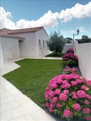 Exemple Paysagiste n°37 zone Charentes-Maritimes par Armony Gardens