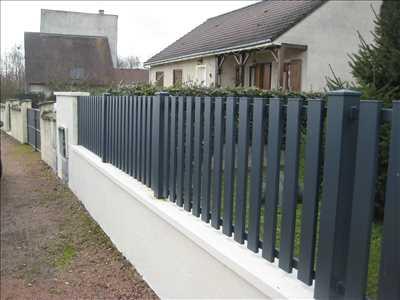 Photo Pose de clôture n°406 à Dijon par Manale