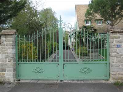 Photo Pose de clôture n°407 dans le département 21 par Manale