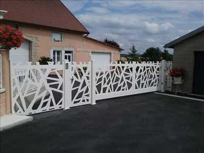 Photo Pose de clôture n°416 zone Côte-d'Or par Manale
