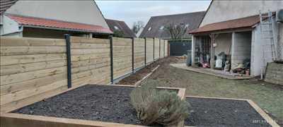 Photo Pose de clôture n°58 à Chantilly par Stéphane