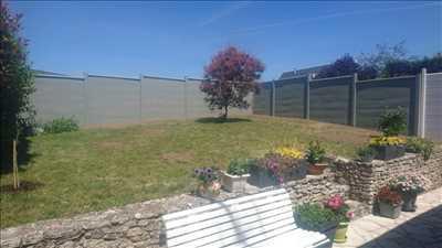 Photo Pose de clôture n°59 dans le département 60 par Stéphane