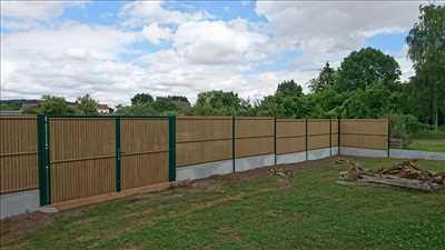 Exemple Pose de clôture n°61 zone Oise par Stéphane